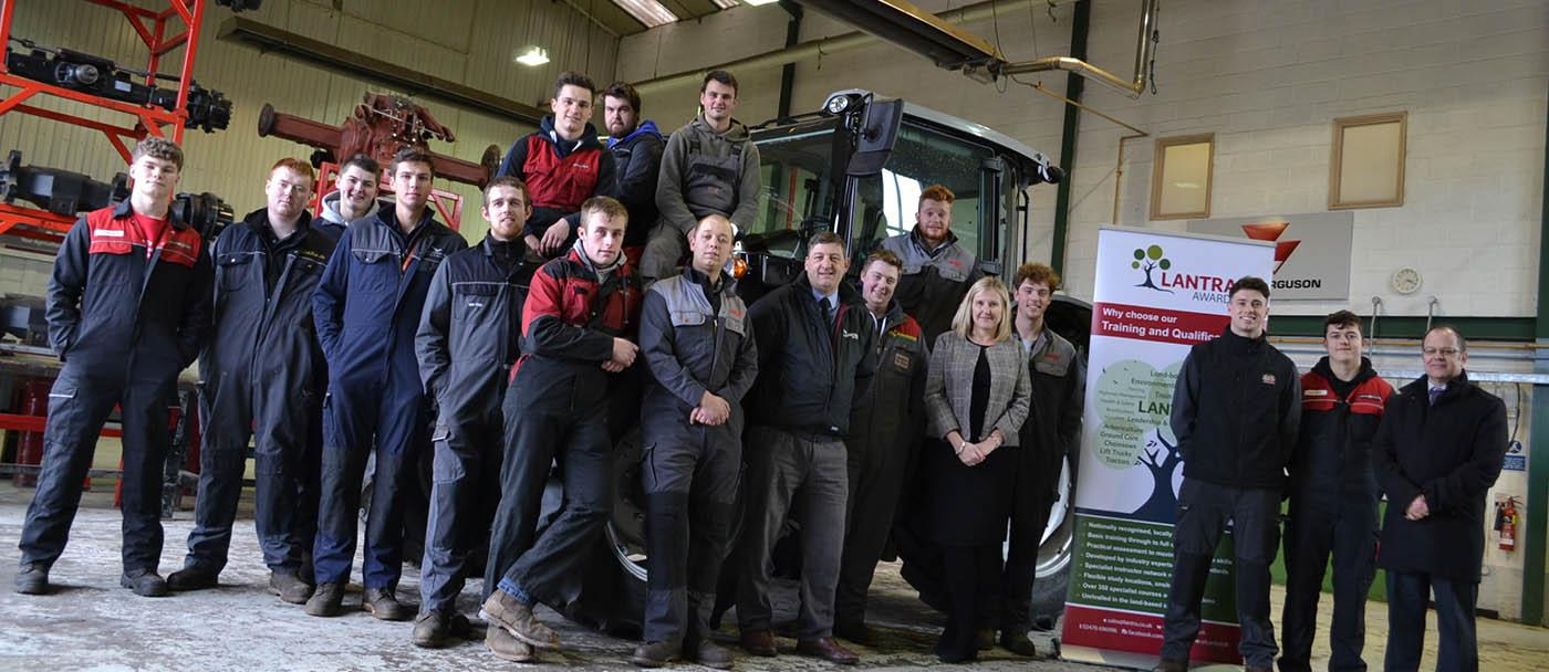 AGCO apprentices at Moreton Morrell College