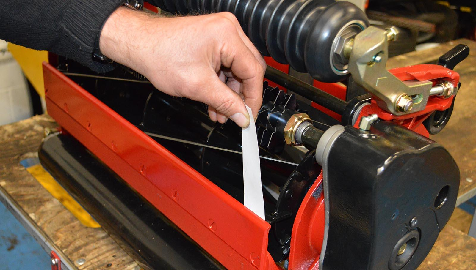 Mower set up: it's all about attention to detail   Lantra Awards