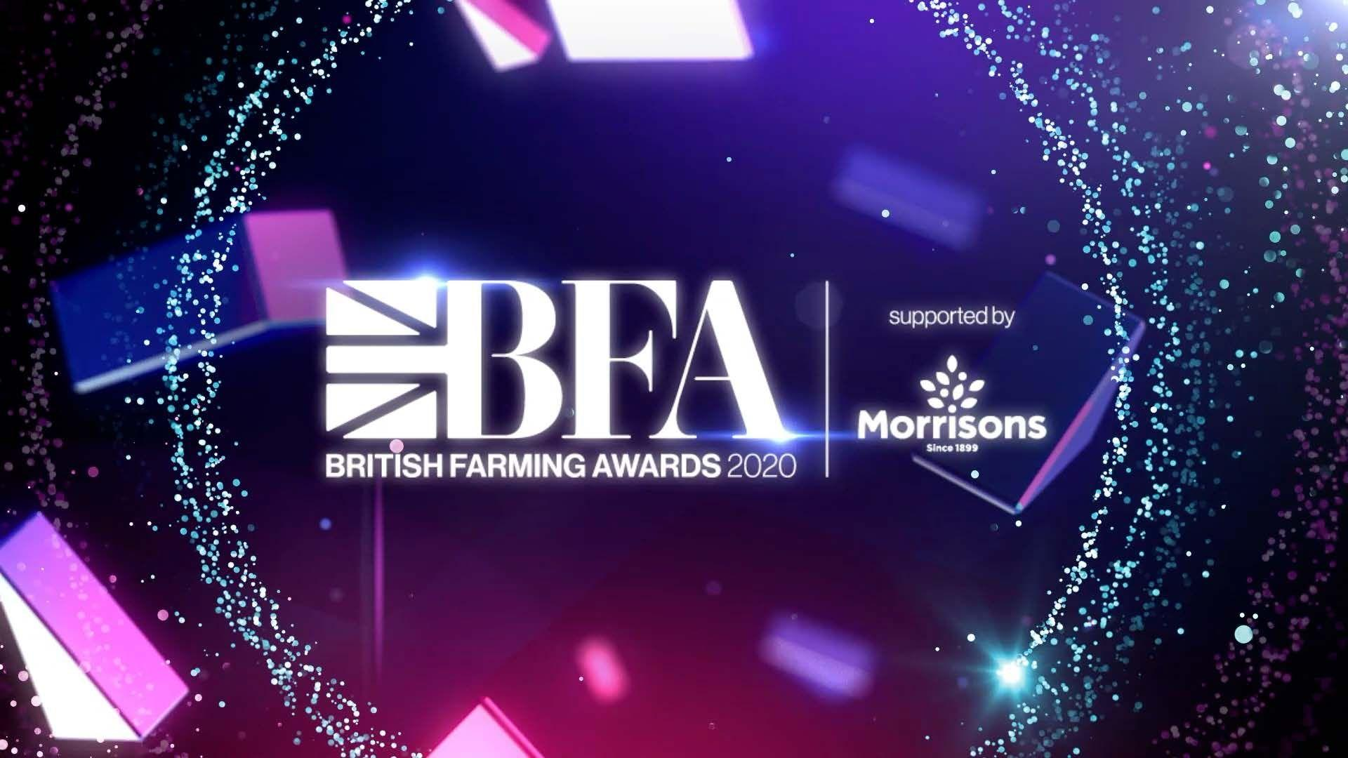 The British Farming Awards 2020 Logo