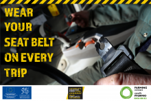 Wear your seat belt graphic